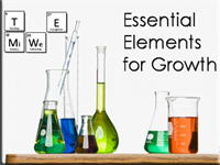 Essential Elements for Growth