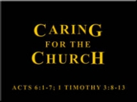 Caring For The Church
